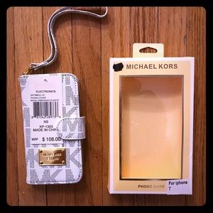 Michael Kors IPhone 7 case and wallet
